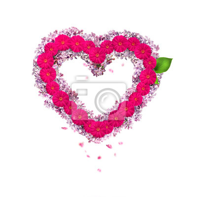 Валентин фон: единое сердце из цветов, 20x20 см, на бумаге02.14 День Святого Валентина (День всех влюбленных)<br>Постер на холсте или бумаге. Любого нужного вам размера. В раме или без. Подвес в комплекте. Трехслойная надежная упаковка. Доставим в любую точку России. Вам осталось только повесить картину на стену!<br>