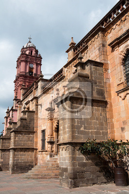 Постер Мехико Святыня Virgen del Carmen, Tlalpujahua (Мексика)Мехико<br>Постер на холсте или бумаге. Любого нужного вам размера. В раме или без. Подвес в комплекте. Трехслойная надежная упаковка. Доставим в любую точку России. Вам осталось только повесить картину на стену!<br>