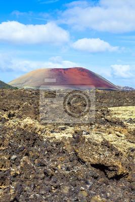 Постер Вулканы Вулканический пейзаж Timanfaya Национального парка, Lanzarote,Вулканы<br>Постер на холсте или бумаге. Любого нужного вам размера. В раме или без. Подвес в комплекте. Трехслойная надежная упаковка. Доставим в любую точку России. Вам осталось только повесить картину на стену!<br>