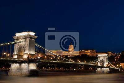 Постер Будапешт Цепной Мост, Королевский дворец в БудапештеБудапешт<br>Постер на холсте или бумаге. Любого нужного вам размера. В раме или без. Подвес в комплекте. Трехслойная надежная упаковка. Доставим в любую точку России. Вам осталось только повесить картину на стену!<br>