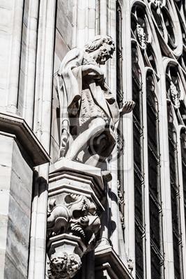 Постер Милан Миланский собор-готический собор в Милане,ИталияМилан<br>Постер на холсте или бумаге. Любого нужного вам размера. В раме или без. Подвес в комплекте. Трехслойная надежная упаковка. Доставим в любую точку России. Вам осталось только повесить картину на стену!<br>