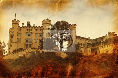 Постер Замок Нойшванштайн