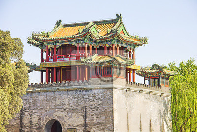 Постер Пекин Знаменитый Летнем дворце, Пекин, КитайПекин<br>Постер на холсте или бумаге. Любого нужного вам размера. В раме или без. Подвес в комплекте. Трехслойная надежная упаковка. Доставим в любую точку России. Вам осталось только повесить картину на стену!<br>