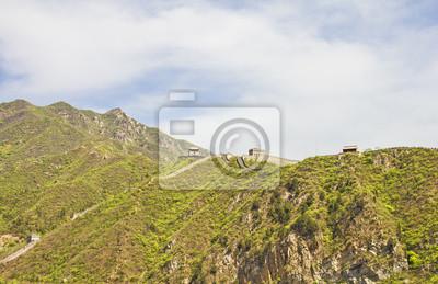 Постер Пекин Панорамный вид на Великой китайской СтенеПекин<br>Постер на холсте или бумаге. Любого нужного вам размера. В раме или без. Подвес в комплекте. Трехслойная надежная упаковка. Доставим в любую точку России. Вам осталось только повесить картину на стену!<br>