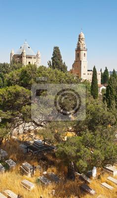 Постер Иерусалим ЦерковьИерусалим<br>Постер на холсте или бумаге. Любого нужного вам размера. В раме или без. Подвес в комплекте. Трехслойная надежная упаковка. Доставим в любую точку России. Вам осталось только повесить картину на стену!<br>