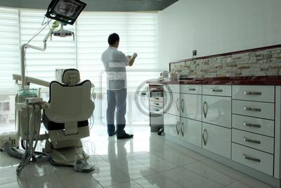 Постер Стоматология Стоматолог офисного интерьераСтоматология<br>Постер на холсте или бумаге. Любого нужного вам размера. В раме или без. Подвес в комплекте. Трехслойная надежная упаковка. Доставим в любую точку России. Вам осталось только повесить картину на стену!<br>