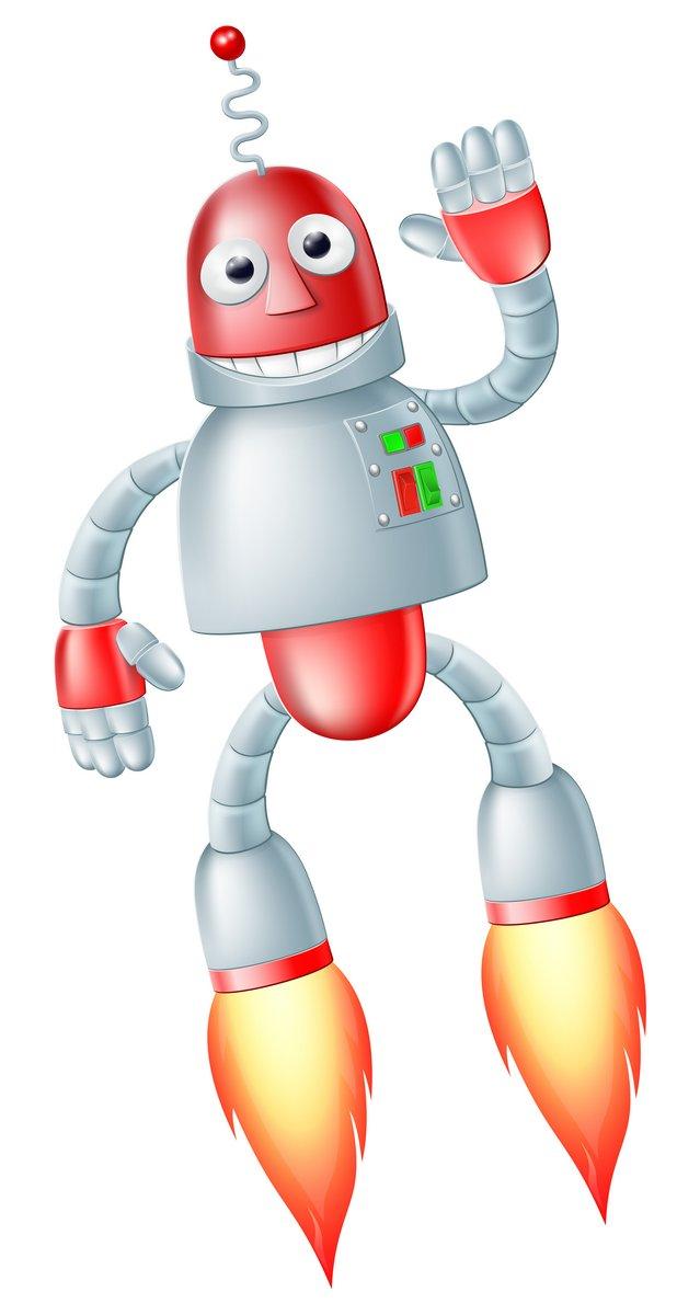 Постер Разные детские постеры Милые летающий робот человекРазные детские постеры<br>Постер на холсте или бумаге. Любого нужного вам размера. В раме или без. Подвес в комплекте. Трехслойная надежная упаковка. Доставим в любую точку России. Вам осталось только повесить картину на стену!<br>
