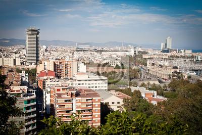 Постер Барселона Барселона  cityscapeБарселона<br>Постер на холсте или бумаге. Любого нужного вам размера. В раме или без. Подвес в комплекте. Трехслойная надежная упаковка. Доставим в любую точку России. Вам осталось только повесить картину на стену!<br>