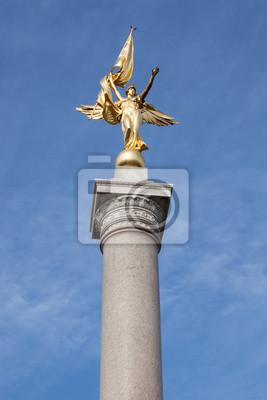 Постер Вашингтон Первый Дивизион Памятник ВашингтонВашингтон<br>Постер на холсте или бумаге. Любого нужного вам размера. В раме или без. Подвес в комплекте. Трехслойная надежная упаковка. Доставим в любую точку России. Вам осталось только повесить картину на стену!<br>