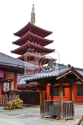 Постер Токио Пагода на Sensoji Храм АсакусаТокио<br>Постер на холсте или бумаге. Любого нужного вам размера. В раме или без. Подвес в комплекте. Трехслойная надежная упаковка. Доставим в любую точку России. Вам осталось только повесить картину на стену!<br>