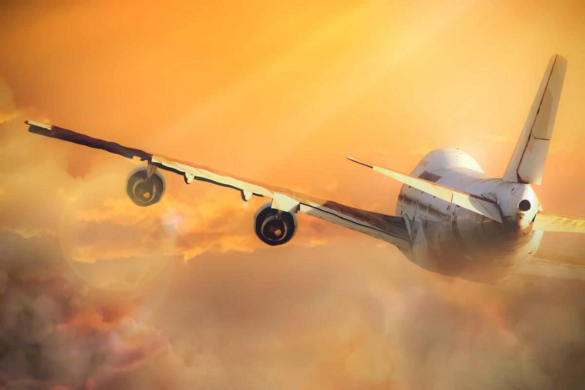 Постер-картина Фото-постеры Самолет в небе, 30x20 см, на бумагеСамолеты<br>Постер на холсте или бумаге. Любого нужного вам размера. В раме или без. Подвес в комплекте. Трехслойная надежная упаковка. Доставим в любую точку России. Вам осталось только повесить картину на стену!<br>
