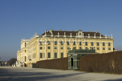 Постер Вена Sch?nbrunn дворец в Вене, АвстрияВена<br>Постер на холсте или бумаге. Любого нужного вам размера. В раме или без. Подвес в комплекте. Трехслойная надежная упаковка. Доставим в любую точку России. Вам осталось только повесить картину на стену!<br>