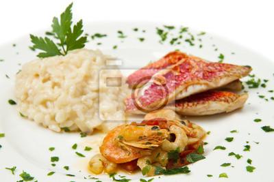Постер Рыба, Морепродукты