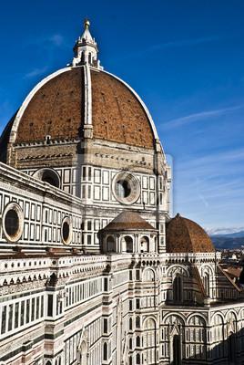 Постер Тоскана Firenze il DuomoТоскана<br>Постер на холсте или бумаге. Любого нужного вам размера. В раме или без. Подвес в комплекте. Трехслойная надежная упаковка. Доставим в любую точку России. Вам осталось только повесить картину на стену!<br>