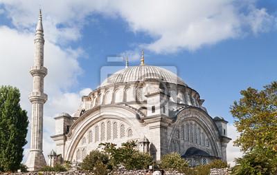 Nuruosmaniye Камии, мечеть в Стамбуле, Турция., 31x20 см, на бумагеСтамбул<br>Постер на холсте или бумаге. Любого нужного вам размера. В раме или без. Подвес в комплекте. Трехслойная надежная упаковка. Доставим в любую точку России. Вам осталось только повесить картину на стену!<br>