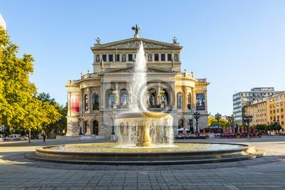 Постер Франкфурт Известный оперный дом во Франкфурте, Alte Oper, ГерманияФранкфурт<br>Постер на холсте или бумаге. Любого нужного вам размера. В раме или без. Подвес в комплекте. Трехслойная надежная упаковка. Доставим в любую точку России. Вам осталось только повесить картину на стену!<br>