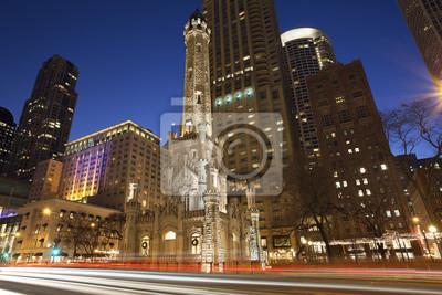 Постер Чикаго Chicago Water TowerЧикаго<br>Постер на холсте или бумаге. Любого нужного вам размера. В раме или без. Подвес в комплекте. Трехслойная надежная упаковка. Доставим в любую точку России. Вам осталось только повесить картину на стену!<br>