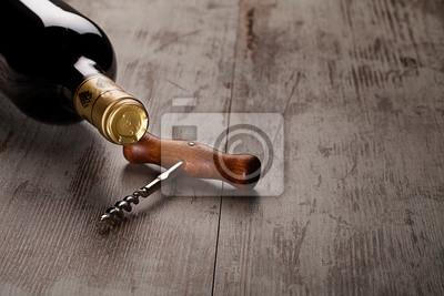 Бутылка вина, 30x20 см, на бумагеВино<br>Постер на холсте или бумаге. Любого нужного вам размера. В раме или без. Подвес в комплекте. Трехслойная надежная упаковка. Доставим в любую точку России. Вам осталось только повесить картину на стену!<br>