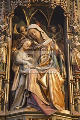Постер Словакия Кошице - Статуя Святого Энн и Мэри - Элизабет соборСловакия<br>Постер на холсте или бумаге. Любого нужного вам размера. В раме или без. Подвес в комплекте. Трехслойная надежная упаковка. Доставим в любую точку России. Вам осталось только повесить картину на стену!<br>