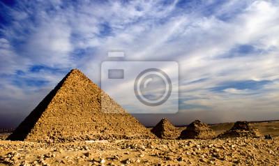 Постер Архитектура Постер 48614371, 34x20 см, на бумагеЕгипетские пирамиды<br>Постер на холсте или бумаге. Любого нужного вам размера. В раме или без. Подвес в комплекте. Трехслойная надежная упаковка. Доставим в любую точку России. Вам осталось только повесить картину на стену!<br>