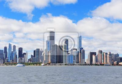 Постер Чикаго Чикаго, город, городской горизонтЧикаго<br>Постер на холсте или бумаге. Любого нужного вам размера. В раме или без. Подвес в комплекте. Трехслойная надежная упаковка. Доставим в любую точку России. Вам осталось только повесить картину на стену!<br>