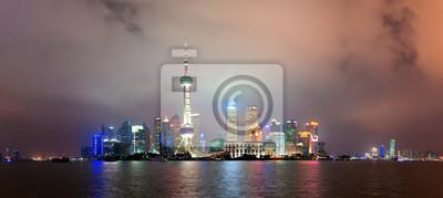 Постер Шанхай Шанхай skyline ночьюШанхай<br>Постер на холсте или бумаге. Любого нужного вам размера. В раме или без. Подвес в комплекте. Трехслойная надежная упаковка. Доставим в любую точку России. Вам осталось только повесить картину на стену!<br>