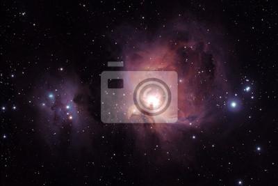 Постер Космос - разные постеры Туманность Ориона - M42Космос - разные постеры<br>Постер на холсте или бумаге. Любого нужного вам размера. В раме или без. Подвес в комплекте. Трехслойная надежная упаковка. Доставим в любую точку России. Вам осталось только повесить картину на стену!<br>