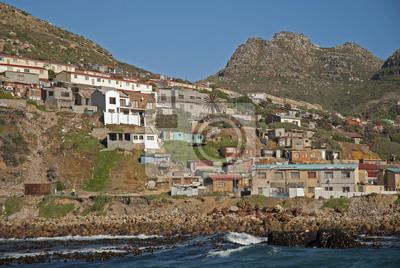Постер Африканский пейзаж Южная АфрикаАфриканский пейзаж<br>Постер на холсте или бумаге. Любого нужного вам размера. В раме или без. Подвес в комплекте. Трехслойная надежная упаковка. Доставим в любую точку России. Вам осталось только повесить картину на стену!<br>