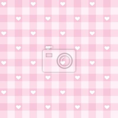 Постер Дизайнерские обои для детской Бесшовные розовый Валентина фоне сердца векторного рисункаДизайнерские обои для детской<br>Постер на холсте или бумаге. Любого нужного вам размера. В раме или без. Подвес в комплекте. Трехслойная надежная упаковка. Доставим в любую точку России. Вам осталось только повесить картину на стену!<br>