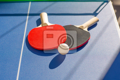 Постер Настольный теннис