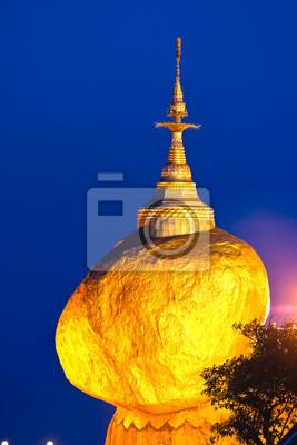 Постер Мьянма (Бирма) Golden Rock, Мьянма.Мьянма (Бирма)<br>Постер на холсте или бумаге. Любого нужного вам размера. В раме или без. Подвес в комплекте. Трехслойная надежная упаковка. Доставим в любую точку России. Вам осталось только повесить картину на стену!<br>