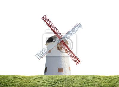 Ветряная мельница в рисовый завод, 27x20 см, на бумагеМельницы<br>Постер на холсте или бумаге. Любого нужного вам размера. В раме или без. Подвес в комплекте. Трехслойная надежная упаковка. Доставим в любую точку России. Вам осталось только повесить картину на стену!<br>