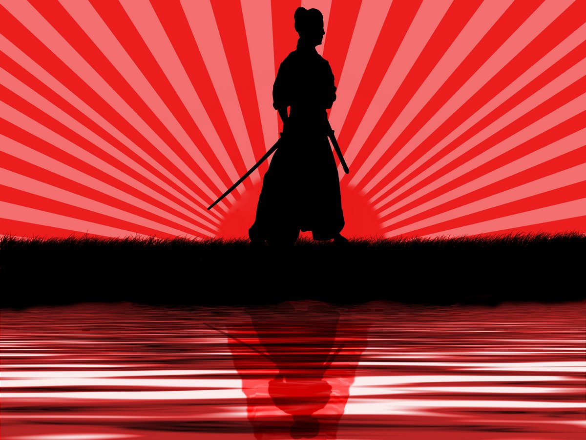 Постер Самураи Самураи против красного закатаСамураи<br>Постер на холсте или бумаге. Любого нужного вам размера. В раме или без. Подвес в комплекте. Трехслойная надежная упаковка. Доставим в любую точку России. Вам осталось только повесить картину на стену!<br>