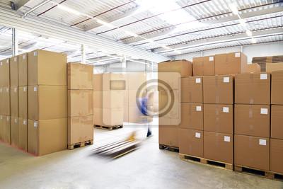 Постер Промышленность Industrielle Lagerung // коммерческих хранения, 30x20 см, на бумагеЗаводы<br>Постер на холсте или бумаге. Любого нужного вам размера. В раме или без. Подвес в комплекте. Трехслойная надежная упаковка. Доставим в любую точку России. Вам осталось только повесить картину на стену!<br>