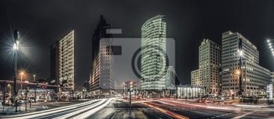 Постер Берлин Berlin Potsdamer Platz ПанорамаБерлин<br>Постер на холсте или бумаге. Любого нужного вам размера. В раме или без. Подвес в комплекте. Трехслойная надежная упаковка. Доставим в любую точку России. Вам осталось только повесить картину на стену!<br>