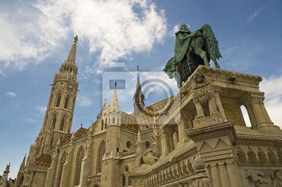 Постер Венгрия Будапешт (Венгрия) - St.Matthias ЦерквиВенгрия<br>Постер на холсте или бумаге. Любого нужного вам размера. В раме или без. Подвес в комплекте. Трехслойная надежная упаковка. Доставим в любую точку России. Вам осталось только повесить картину на стену!<br>