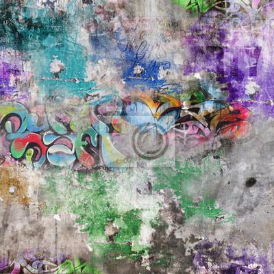Постер Люблю Мур гранж - GraffitisАбстракция<br>Постер на холсте или бумаге. Любого нужного вам размера. В раме или без. Подвес в комплекте. Трехслойная надежная упаковка. Доставим в любую точку России. Вам осталось только повесить картину на стену!<br>