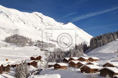 Постер Альпийский пейзаж Grand BornandАльпийский пейзаж<br>Постер на холсте или бумаге. Любого нужного вам размера. В раме или без. Подвес в комплекте. Трехслойная надежная упаковка. Доставим в любую точку России. Вам осталось только повесить картину на стену!<br>