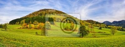 Осенний пейзаж, 52x20 см, на бумагеПольша<br>Постер на холсте или бумаге. Любого нужного вам размера. В раме или без. Подвес в комплекте. Трехслойная надежная упаковка. Доставим в любую точку России. Вам осталось только повесить картину на стену!<br>
