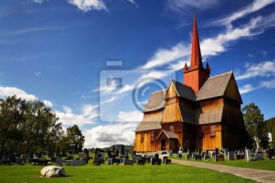 Постер Норвегия Норвегия: деревянная церковь и кладбищеНорвегия<br>Постер на холсте или бумаге. Любого нужного вам размера. В раме или без. Подвес в комплекте. Трехслойная надежная упаковка. Доставим в любую точку России. Вам осталось только повесить картину на стену!<br>