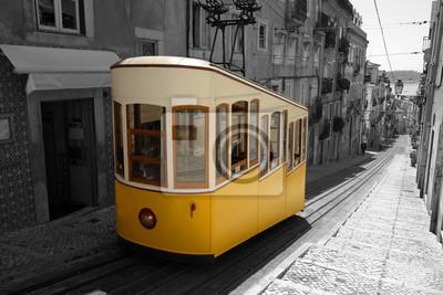 Постер Португалия Лиссабон ТрамвайПортугалия<br>Постер на холсте или бумаге. Любого нужного вам размера. В раме или без. Подвес в комплекте. Трехслойная надежная упаковка. Доставим в любую точку России. Вам осталось только повесить картину на стену!<br>