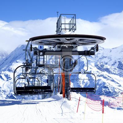 Постер Альпийский пейзаж Мотоцикл кресло-Лифт прибытияАльпийский пейзаж<br>Постер на холсте или бумаге. Любого нужного вам размера. В раме или без. Подвес в комплекте. Трехслойная надежная упаковка. Доставим в любую точку России. Вам осталось только повесить картину на стену!<br>
