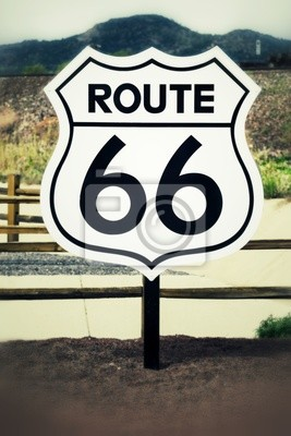 Постер США Route 66, 20x30 см, на бумагеСША<br>Постер на холсте или бумаге. Любого нужного вам размера. В раме или без. Подвес в комплекте. Трехслойная надежная упаковка. Доставим в любую точку России. Вам осталось только повесить картину на стену!<br>