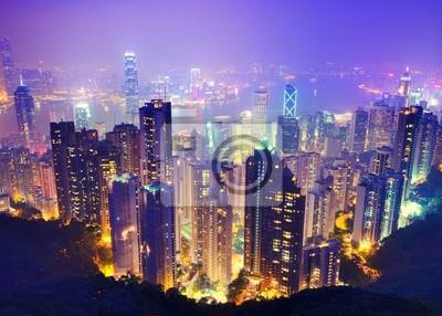 Постер Китай Гонконг НочьюКитай<br>Постер на холсте или бумаге. Любого нужного вам размера. В раме или без. Подвес в комплекте. Трехслойная надежная упаковка. Доставим в любую точку России. Вам осталось только повесить картину на стену!<br>