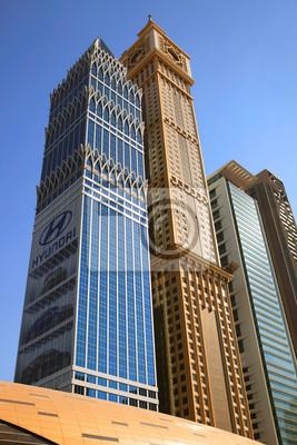 Постер ОАЭ Вид на Sheikh Zayed Road небоскребовОАЭ<br>Постер на холсте или бумаге. Любого нужного вам размера. В раме или без. Подвес в комплекте. Трехслойная надежная упаковка. Доставим в любую точку России. Вам осталось только повесить картину на стену!<br>