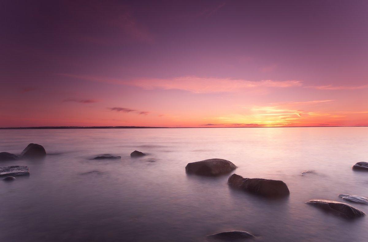 Постер Пейзаж морской Красивый океан восхода солнца, широкий угол фотоПейзаж морской<br>Постер на холсте или бумаге. Любого нужного вам размера. В раме или без. Подвес в комплекте. Трехслойная надежная упаковка. Доставим в любую точку России. Вам осталось только повесить картину на стену!<br>