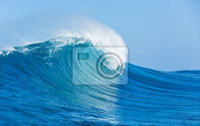 Постер Пейзаж морской ВолнаПейзаж морской<br>Постер на холсте или бумаге. Любого нужного вам размера. В раме или без. Подвес в комплекте. Трехслойная надежная упаковка. Доставим в любую точку России. Вам осталось только повесить картину на стену!<br>