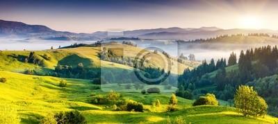 Постер Пейзаж горный Горы пейзажПейзаж горный<br>Постер на холсте или бумаге. Любого нужного вам размера. В раме или без. Подвес в комплекте. Трехслойная надежная упаковка. Доставим в любую точку России. Вам осталось только повесить картину на стену!<br>