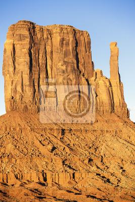 Постер Пейзаж песчаный Вертикальный вид на западном ПалецПейзаж песчаный<br>Постер на холсте или бумаге. Любого нужного вам размера. В раме или без. Подвес в комплекте. Трехслойная надежная упаковка. Доставим в любую точку России. Вам осталось только повесить картину на стену!<br>