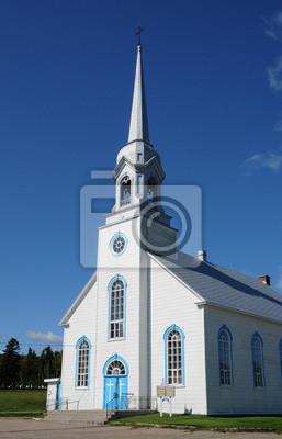 Квебек, историческая церковь Baie Sainte Catherine, 20x31 см, на бумагеКанада<br>Постер на холсте или бумаге. Любого нужного вам размера. В раме или без. Подвес в комплекте. Трехслойная надежная упаковка. Доставим в любую точку России. Вам осталось только повесить картину на стену!<br>